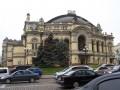 Ópera Kiev Ucrania Casa La Construcción De