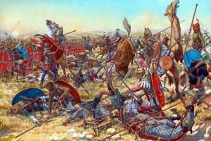La batalla de Cannas (2/8/216 A.C)
