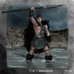 Cuchulainn y la batalla de los bueyes de Cualinge