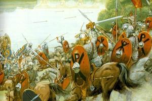 La batalla de los campos Cataláunicos(20/6/451 D.C)