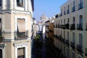 Calle Espoz y Mina desde la Plaza del Angel – Madrid