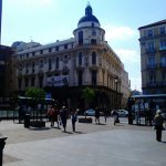 Plaza de Jacinto Benavente – Madrid