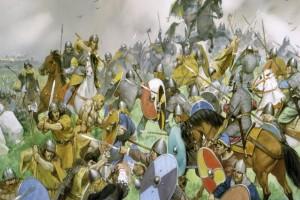 La batalla de Clontarf (Viernes Santo del 23 del 27/4/1014)
