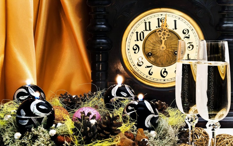 ¡Son las 12 de la noche y hay que celebrar el nuevo año!