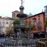 Granada – Fuente de la Plaza de Bib Rambla