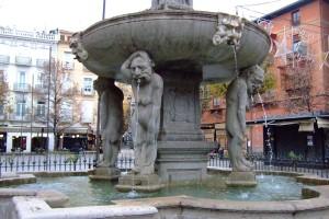Granada – Fuente de la Plaza de Bib Rambla – Detalle