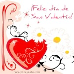 ¡Feliz dia de San Valentín!