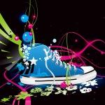Zapatillas aladas de colores chupiguays