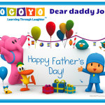 Happy father´s day, dear daddy John