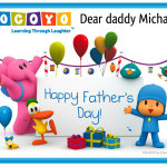 Happy father´s day, dear daddy Michael
