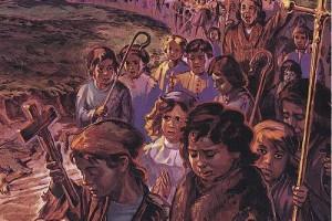 La cruzada de los niños (1212 tras la cuarta cruzada)