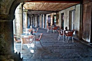 Plaza do Millo – Celanova – Soportales