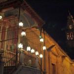 Mezquita Córdoba – Noche – Virgen – Faroles