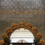 Córdoba Mezquita Catedral arco árabe