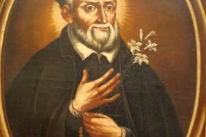 San Felipe Neri pintura retrato