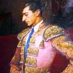 Retrato Manolete pintura museo taurino Córdoba