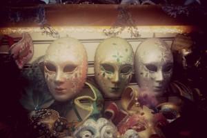 Máscaras estilo Carnaval de Venecia