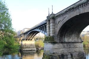 Puente nuevo río Miño Ourense Orense