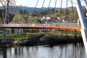 Pasarela sobre el río Miño en Oira – Ourense
