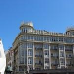 A Coruña plaza Pontevedra edificio