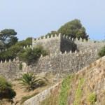 Muralla Parador Nacional Bayona Pontevedra