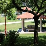 Parque Miño pérgola Ourense