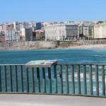 Playas de Riazor y Orzán en A Coruña – Vistas panorámicas