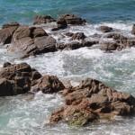 Playas de Riazor y Orzán en A Coruña – Rocas