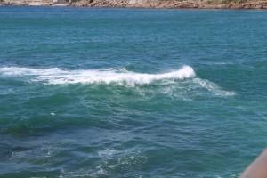 Playas de Riazor y Orzán en A Coruña – Olas en el mar