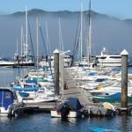Barcos muelle náutico Bayona