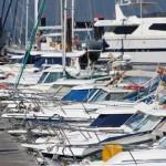 Muelle náutico Bayona barcos yates
