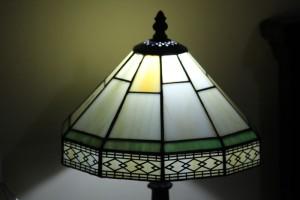 Lámpara mesilla noche Tiffanys