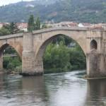 Puente romano Ourense río Miño