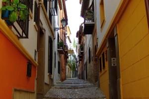 Calle Callejuela Granada Andalucia Andalucía