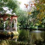Estanque del parque de María Luisa en otoño