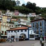 Antigua lonja de pescado de Cudillero Asturias