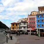 Puerto de Cudillero en otoño Asturiano