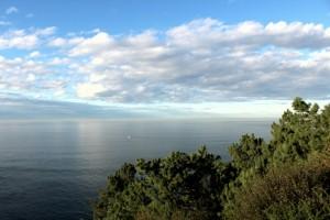 Mar y nubes en Cudillero Asturias