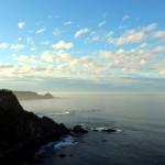 El cielo y el mar asturiano