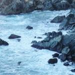 Rocas olas y mar en Asturias