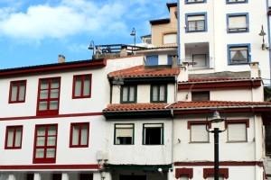 Casas del puerto de Cudillero