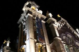 San Juan el Real Oviedo vista nocturna