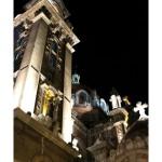 San Juan el Real Campanario Oviedo de noche