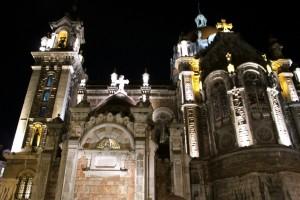 San Juan el Real vista general lateral Oviedo
