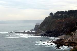 Costa y mar en Tapia de Casariego