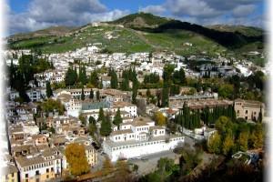 Alhambra de Granada – Vista parcial de la ciudad