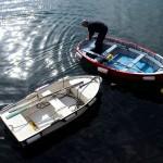 Barcas marineras en Tapia de Casariego