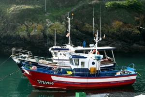 Barco de pesca Tapia de Casariego