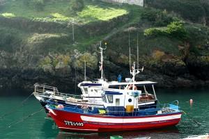 Barcos de pesca Tapia de Casariego