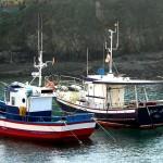 Barcos de pesca en Tapia de Casariego